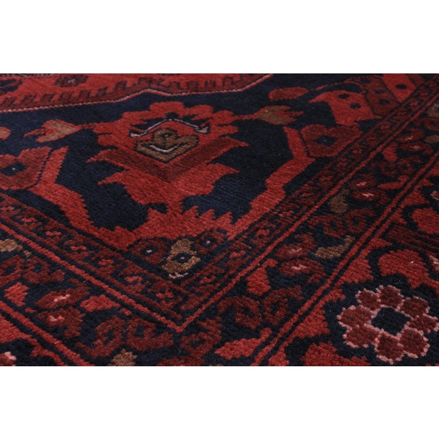 "Finest Khal Mohammadi Afghan Rug - 4'3"" X 6'6"" - Image 2 of 2"