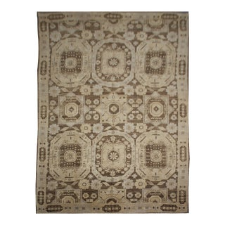 "Hand Knotted Fine Oushak Rug by Aara Rugs Inc. - 8'11"" X 13'1"""
