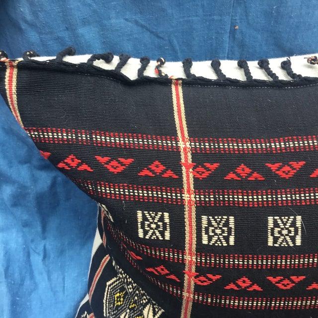 Burmese Chin Tribal Textile Pillows - A Pair - Image 4 of 7
