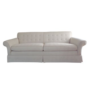 Kravet Button Back Tailored Sofa