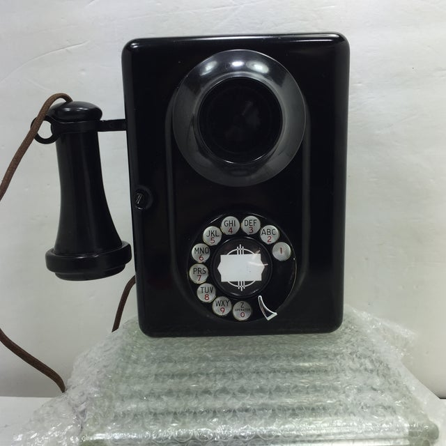 Image of Ae Type 21 Metal Rotary Dial Wall Phone
