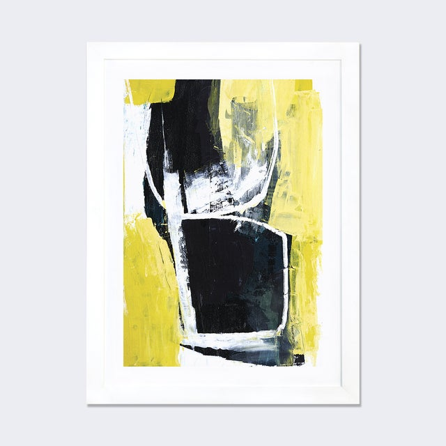 Image of 'Yellow Cocktail' by Heather Chontos Framed Print