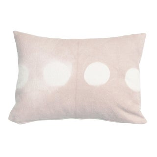 Hand Dyed Pink Shibori Pillow Cover in Rose Quartz