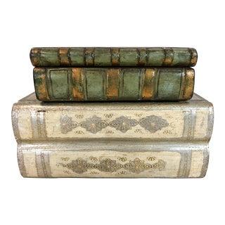 Italian Book Boxes - A Pair