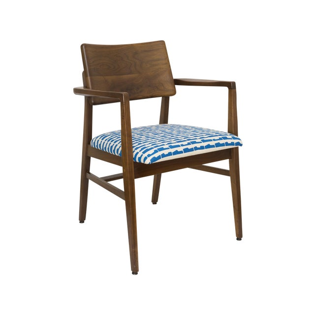Image of Mid-Century American Armchair by Marble