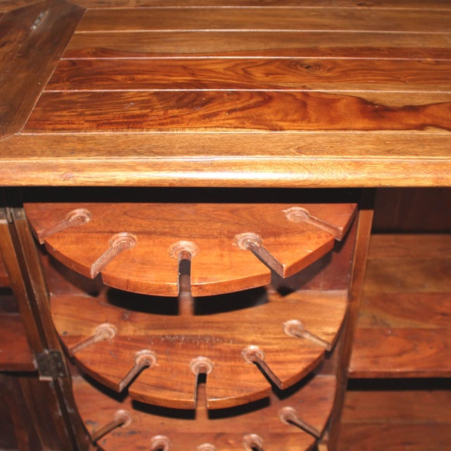 Mango Wood Bar Cabinet - Image 8 of 10