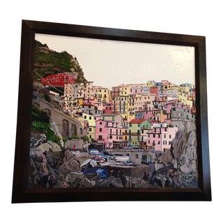"""""""Manarola Cinque Terre"""" Original Painting"""