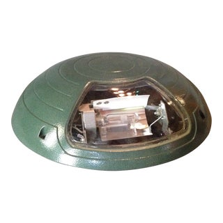 Green Industrial Dome Light