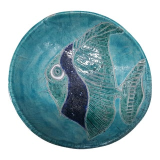Fish Glazed Pottery Bowl