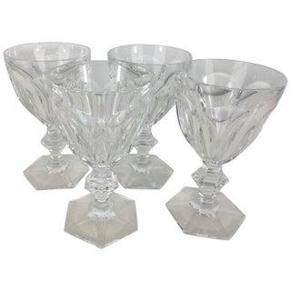 Baccarat Harcourt Goblets - Set of 4