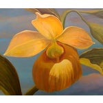 Image of Yellow Orchid With Clouds by Sylvia Roth