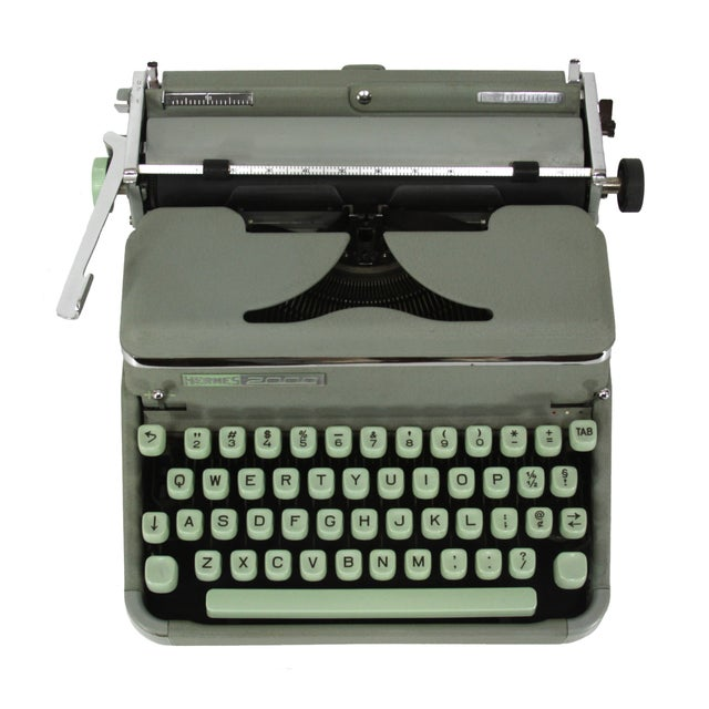 Hermes 2000 Typewriter - Image 1 of 5