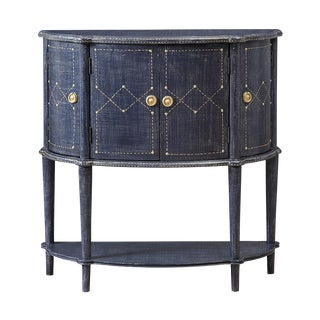 Contemporary Batesville Denim Console