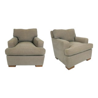 Pair Jean-Michel Frank Lounge Chairs by A. Rudin