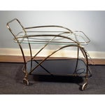 Image of Vintage Deco Style Bar Cart