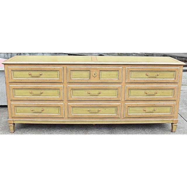 Painted Baker Triple Dresser - Image 2 of 8