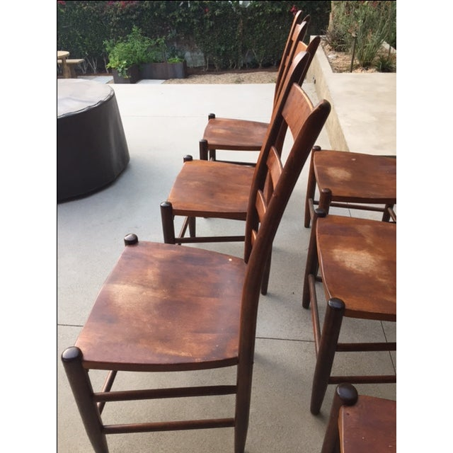 Nichols And Stone Chairs - Set of 6 - Image 5 of 8