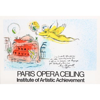 Paris Opera Ceiling Poster by Marc Chagall