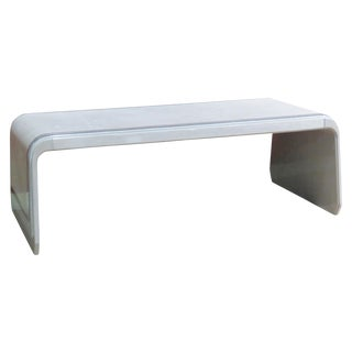 Ruhlmann Style Modern Design Leather Bench