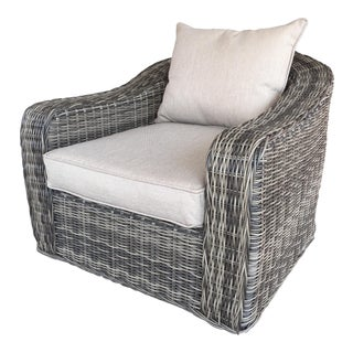 Woven Outdoor Lounge Chair