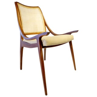 Vintage Richard Thompson Cane Back Chair