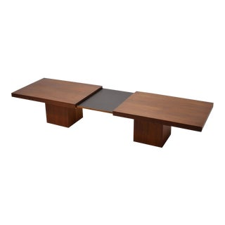 John Keal Expanding Coffee Table by Brown Saltman