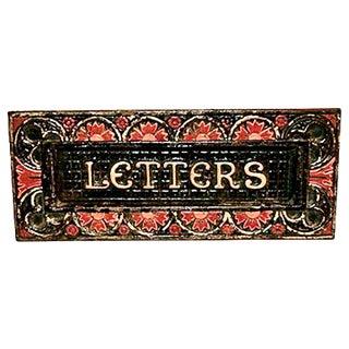 19th-C. Christopher Dresser Kenrick Letter Slot