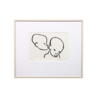"Berta Hansson ""Playful Secret"" Drawing"