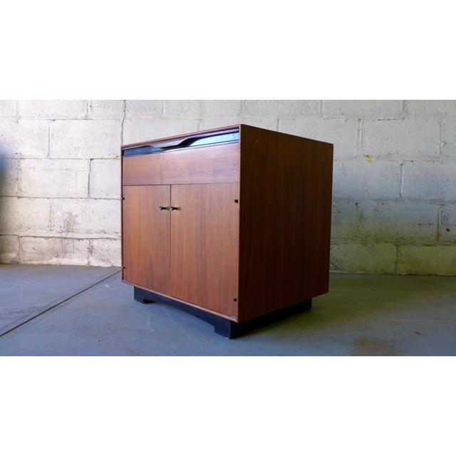 John Stuart Mid-Century Modern Nightstand Cabinet - Image 5 of 6