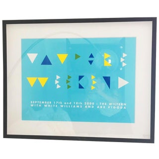 The Wiltern Modern Art Print