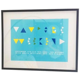 The Wiltern Modern Art Print
