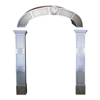 Pedestal Columns & Archway - Set of 3