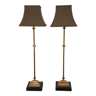 Transitional Style Buffet Lamps - A Pair