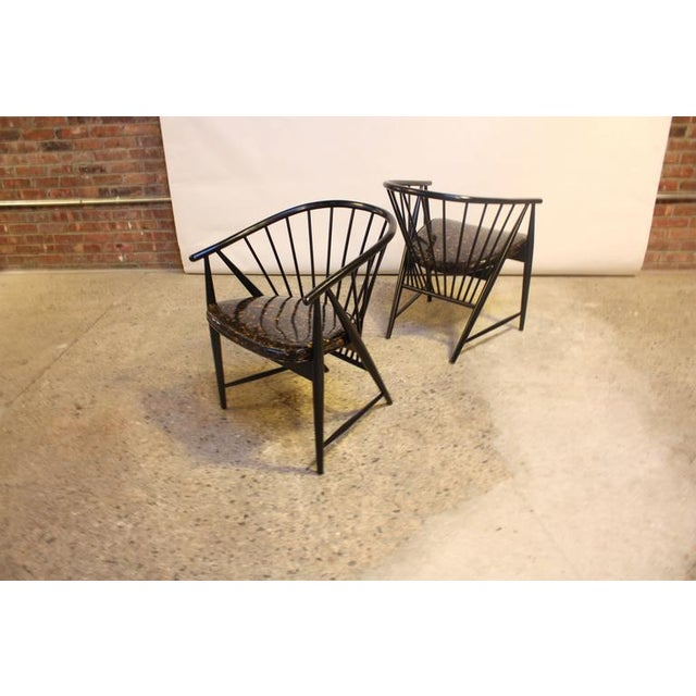 Image of Set of Four Sonna Rosen 'Sulfjadern' Chairs