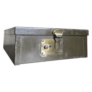 Vintage Industrial Protecto Security Box