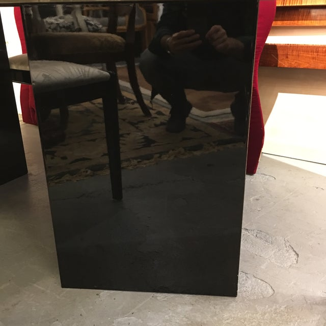 Black Lacquered Dining Set - Image 5 of 6