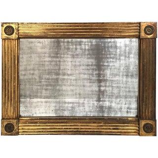 American Classical Giltwood Mirror, circa 1820-1840