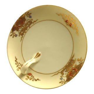 Gold Accents Lemon Dish
