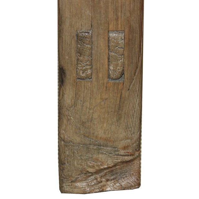 Image of Rustic Elm Bench C. 1940s