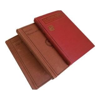 "Antique ""Keller's"" Drama & ""Un Drama Nuevo"" Books - Set of 3"