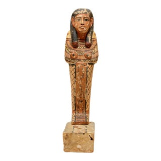 Wood Polychrome Sculpture Ptah-sokar-osiris