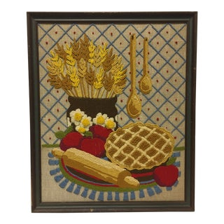 Vintage Embroidered Kitchenscape