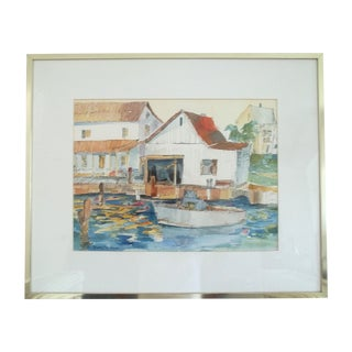 Neubauer Watercolor of Jensen Beach, Fl