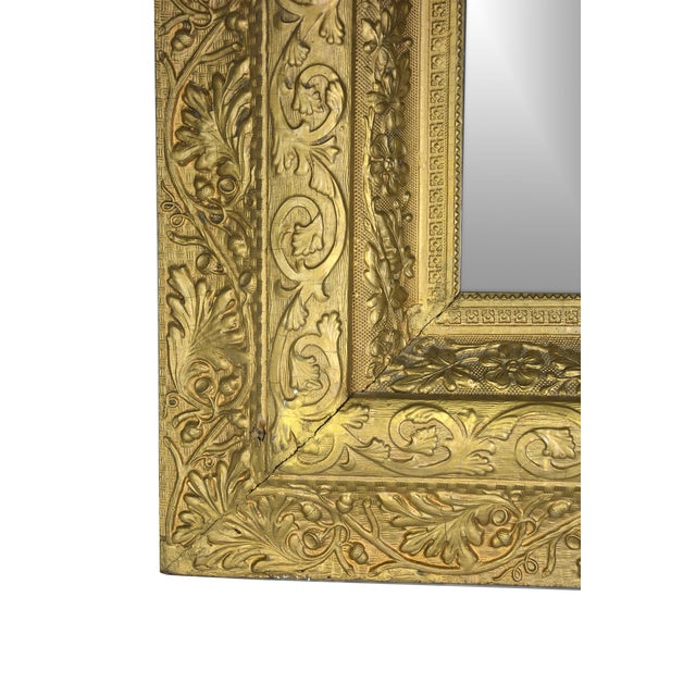 European Gilded Accent Mirror - Image 3 of 6