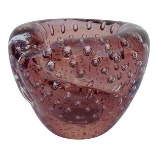 Italian Hand Blown Murano Bowl