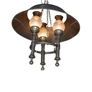 Black Tole Shades Hanging Fixture