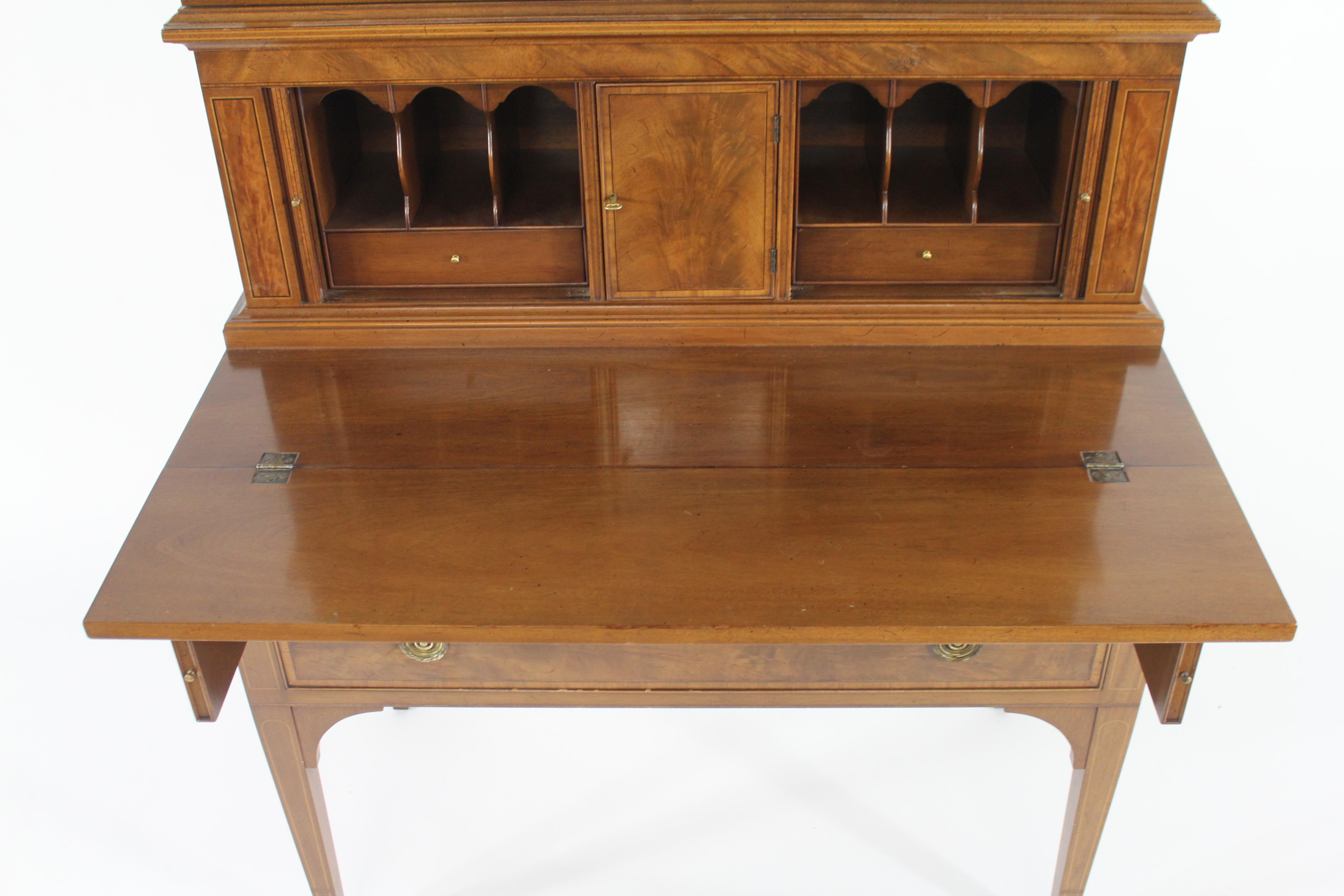 Elegant Beacon Hill Furniture Sheridan Style Drop Front Desk   Image 4 Of 10