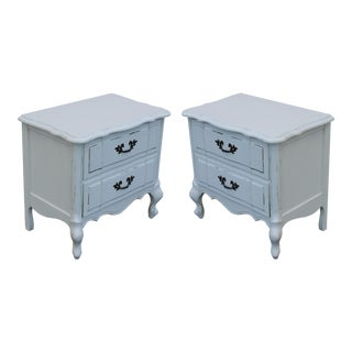 French Provincial Nightstands - A Pair