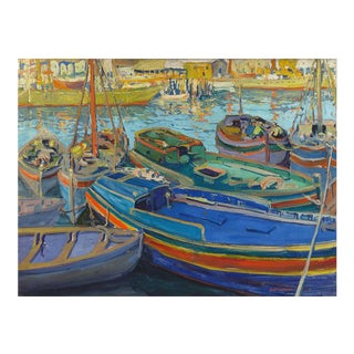FISHING BOATS BY JANE PETERSON