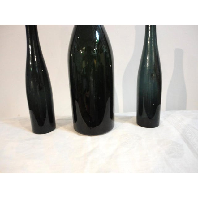 Group of Three Early 19thc Wine Bottles With Original Corks - Image 4 of 4